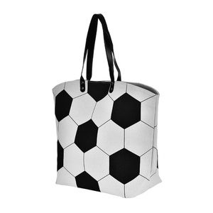 Handbags - New XL soccer mom canvas tote bag still in plastic